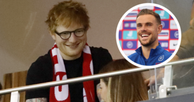 Sheeran plays intimate concert to England team ahead of Germany clash, Henderson confirms