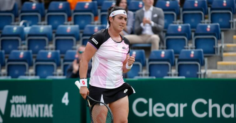 Tunisian second seed Ons Jabeur defeated Russia's Daria Kasatkina in straight sets to win her first singles title at the Birmingham Classic.