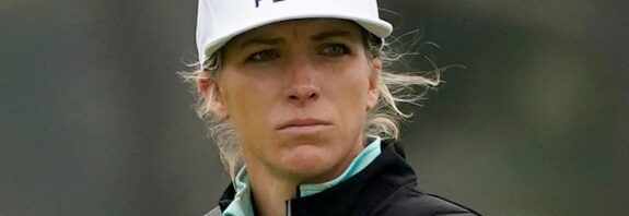 US Women's Open: Mel Reid falls to sixth at halfway, having led after round one