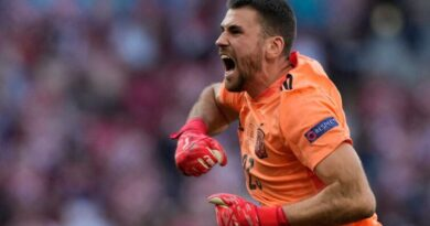 The goalkeeper shook off his first-half error by pulling off some key saves as his side booked their place in the quarter-finals