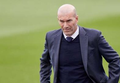 The Frenchman was in no mood to answer questions about his decision to leave Santiago Bernabeu when cornered by reporters in Vallecas