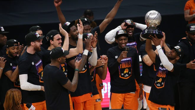 NBA Finals Phoenix Suns beat Los Angeles Clippers to win Conference series