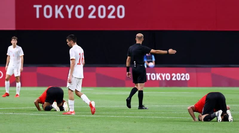 Tokyo 2020: Spain held by Egypt in men's Olympic opener as Chris Wood makes history for NZ