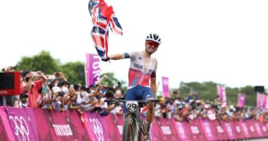 Tom Pidcock won Great Britain's third Olympic gold of the Tokyo Games with a dominant performance in the men's mountain bike cross-country.