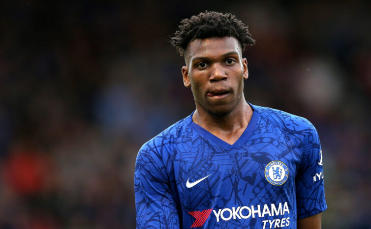 The youngster was highly regarded by Antonio Conte and is beginning to impress another manager through his ability to play at wing-back