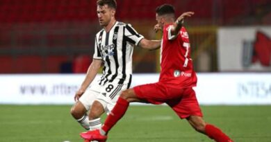 The Bianconeri boss talked up the talents of the Welsh playmaker after seeing him star in a friendly victory over Monza