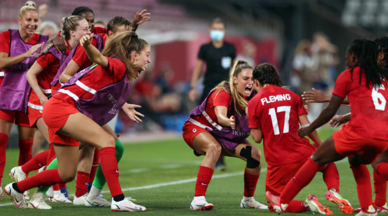 Penalty shootout heroics from Stephanie Labbe, and a clinical decisive spot-kick from Julia Grosso, put Canada at the top of the podium