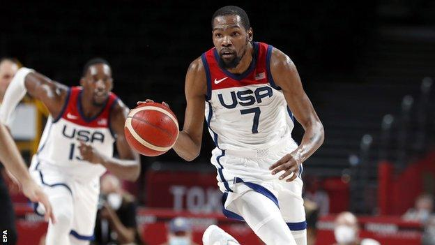 Team USA recovered from a shaky start to beat Australia 97-78 and reach their fourth consecutive Olympic gold-medal basketball game at Tokyo 2020.
