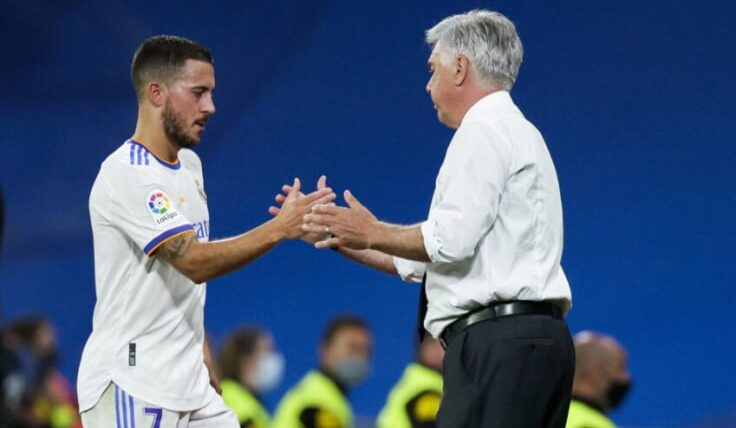 Carlo Ancelotti offered updates on the fitness of both the Wales winger and Eden Hazard ahead of Sunday's visit to Valencia