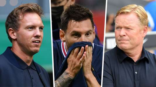Barcelona are not a lot worse off without Messi, says Bayern Munich boss Nagelsmann