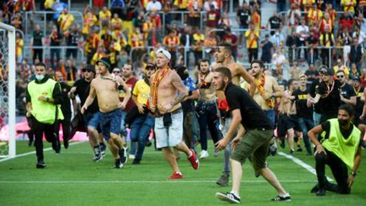 Lens-Lille derby delayed due to crowd clashes as French football suffers latest bout of fan violence