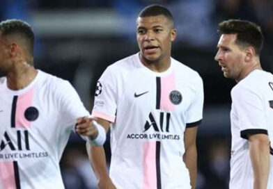 Pochettino explains why Messi, Neymar & Mbappe misfired in PSG's surprise draw with Club Brugge
