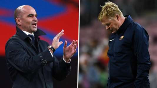 Barcelona speak with Martinez about becoming new coach as they prepare to sack Koeman