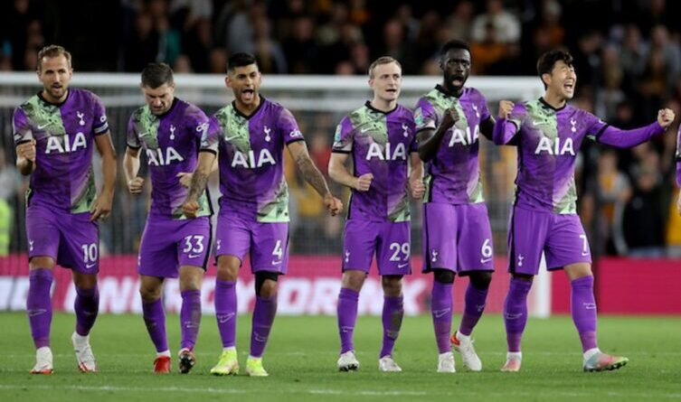 Wolverhampton Wanderers 2-2 Tottenham Hotspur (2-3 on pens): Bruno Lage's side knocked out after shootout