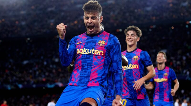 Barcelona 1-0 Dynamo Kyiv: Gerard Pique helps hosts to first win