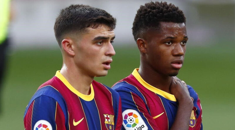 Barcelona can't offer Fati & Pedri lucrative deals but remain confident on new contracts