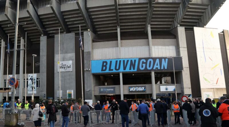 A 63-year-old supporter is fighting for his life after being attacked in a car park following Tuesday night's Champions League clash in Brugge