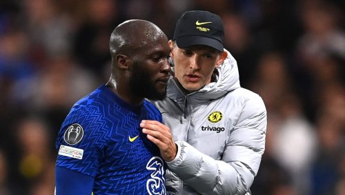 Two of the Blues' forward line were left needing treatment after heavy tackles in the first half at Stamford Bridge